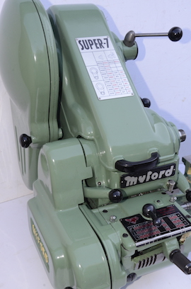 Front View Myford super 7 7B lathe for sale SK158595