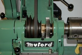 Myford super 7 7B lathe for sale SK160518 front view