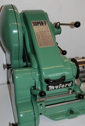 Myford Super 7 ML7 ML7R lathe for sale SK162718 front view