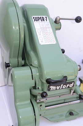 right view Myford Super 7 ML7 ML7R lathe for sale SK163754
