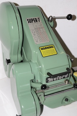 right view Myford super 7 7B lathe for sale SK166154
