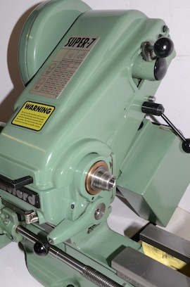 covers view Myford super 7 7B lathe for sale SK166154