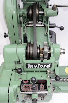 spindle View Myford super 7 7B lathe for sale SK166643