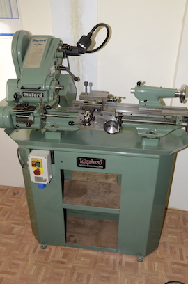 front view Myford super 7 7B lathe for sale SK166767