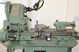 main view Myford super 7 7B lathe for sale SK166767