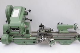 Myford Super 7 power cross feed lathe SK166804 for sale main view