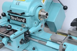 spindle view big bore spindle  Myford super 7 7B lathe for sale SK171170