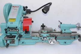 Main view big bore spindle  Myford super 7 7B lathe for sale