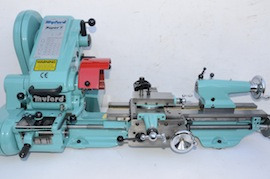Main view big bore spindle  Myford super 7 7B lathe for sale SK171579