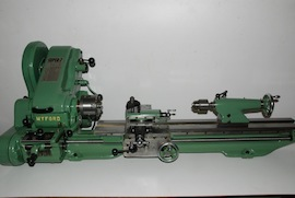 right view Myford Super 7B Longbed lathe for sale