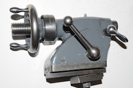 back view myford tailstock ML7  lathe for sale