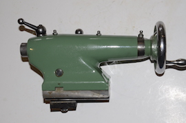 main view Myford Super 7 ML7R lathe tailstock for sale