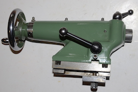back view Myford Super 7 ML7R lathe tailstock for sale