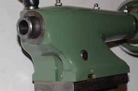 end view Myford Super 7 ML7R lathe tailstock for sale