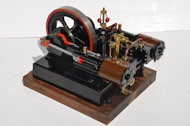 main view Reeves Double Tangye live steam engine for sale