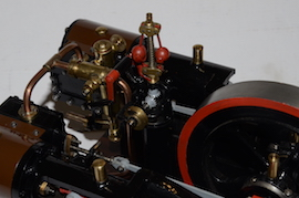 top view Reeves Double Tangye live steam engine for sale