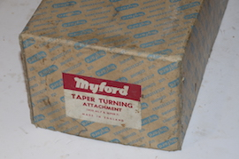 box view taper turning myford super 7 ml7 ml7r for sale