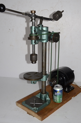 front view george thomas universal sensitive tapping staking tool drill for sale