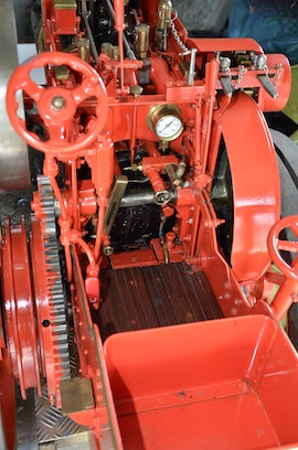 "cab view 4"" A2 Tasker little giant tractor live steam traction engine for sale"