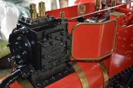 "cylinder view 4"" A2 Tasker little giant tractor live steam traction engine for sale"