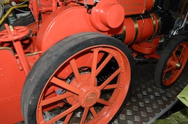 "wheel view 4"" A2 Tasker little giant tractor live steam traction engine for sale"