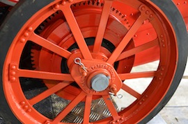 "wheel2 view 4"" A2 Tasker little giant tractor live steam traction engine for sale"