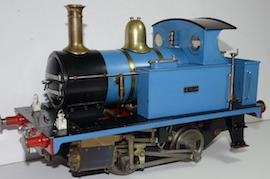 "main view LBSC Tich 3.5"" 040 live steam loco for sale"