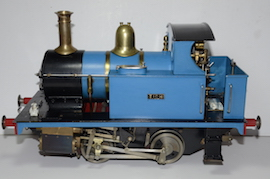 "side view LBSC Tich 3.5"" 040 live steam loco for sale"