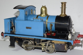 "main2 view LBSC Tich 3.5"" 040 live steam loco for sale"