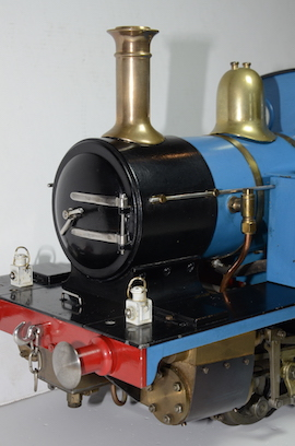 "front view LBSC Tich 3.5"" 040 live steam loco for sale"