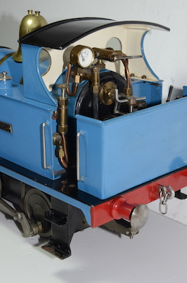 "back view LBSC Tich 3.5"" 040 live steam loco for sale"