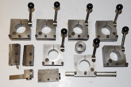 main view adjustable height tool post holders for a myford lathe for sale