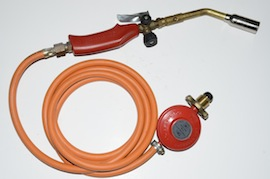 main view rothenberger gas torch welding set for sale