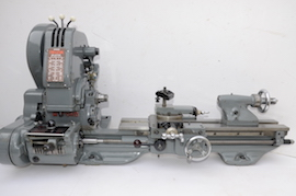 main view Myford trileva ml7 lathe for sale