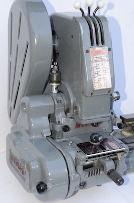 front view Myford Trileva ML7 gearbox lathe for sale K118889