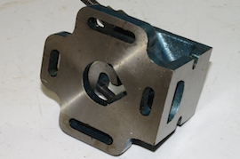 front view Exeter V clamp machine angle clamp  for sale