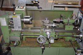 main view Warco WMT918 lathe for sale