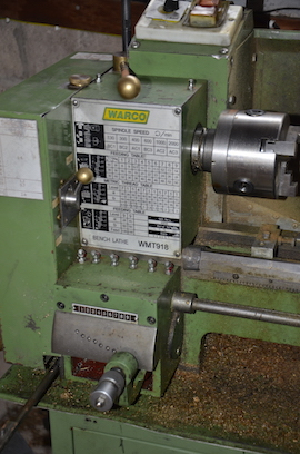 gearbox Warco WMT918 lathe for sale