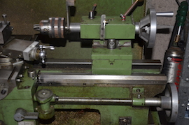 tailstock Warco WMT918 lathe for sale